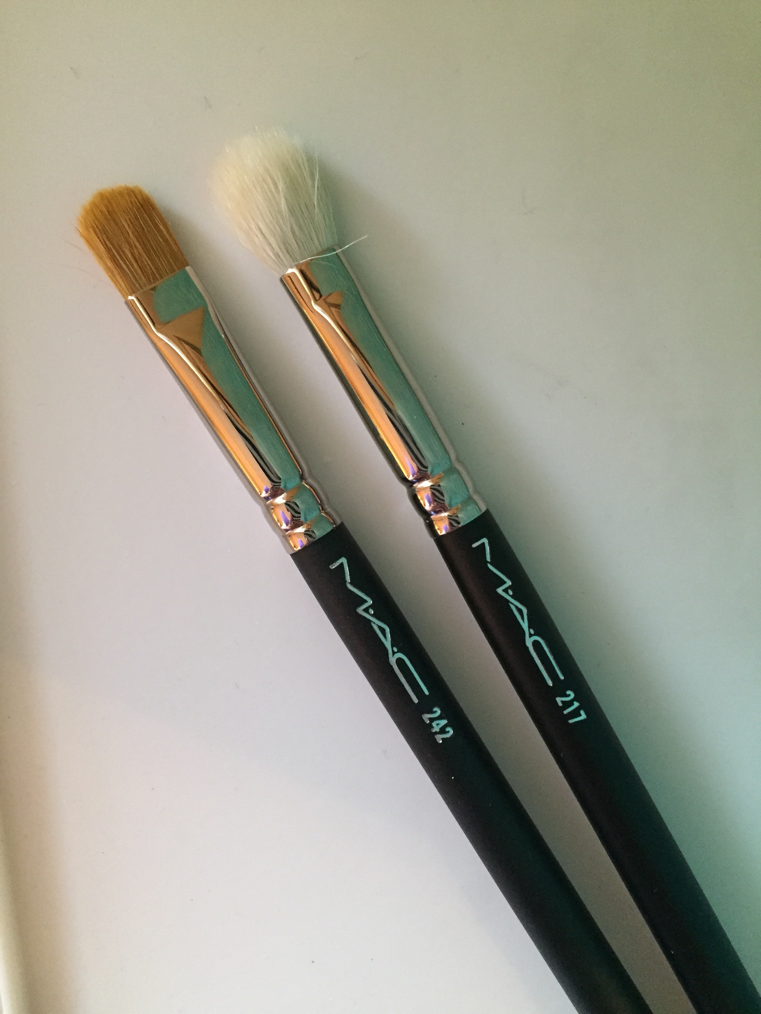 217 and 242 mac brushes